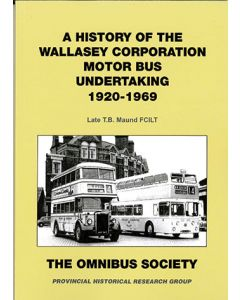 A History of the Wallasey Corporation Motor Bus Undertaking