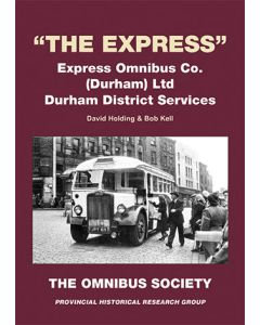 'The Express' Express Omnibus Co. (Durham) Ltd Durham Distri