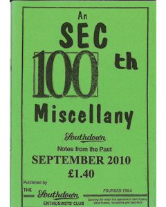 An SEC 100th Miscellany