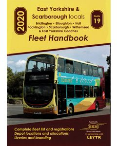 East Yorkshire and Scarborough Locals 2020 Fleetbook