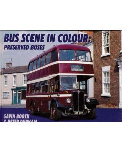 Bus Scene in Colour Preserved Buses