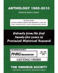 Anthology 1985-2010- Extracts from the First 25 Years of Pro