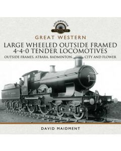 Great Western Large Wheeled Outside Framed 4-4-0 Tender Loco