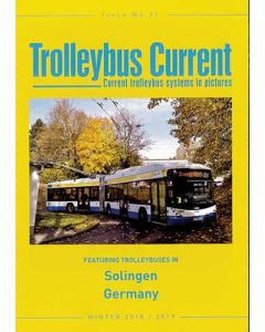 Trolleybus Current No 21 Winter 2018/2019