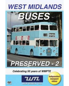 West Midlands Buses Preserved 2- Celebrating 50 Years of WMP