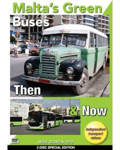 Malta's Green Buses- Then & Now