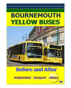 Bournemouth Yellow Buses - Before and Af