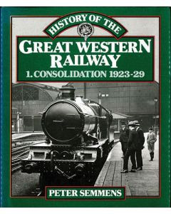 History of the Great Western Railway Consolidation 1923-29