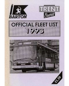 Trent Buses Official Fleet List 1993