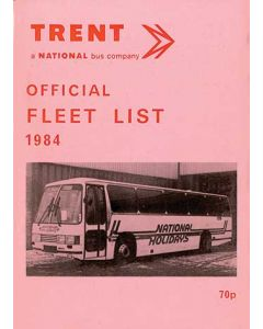 Trent Official Fleet List 1984
