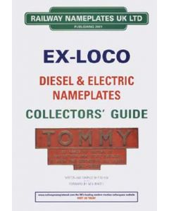 Ex Loco Diesel & Electric Nameplates Collectors Guide