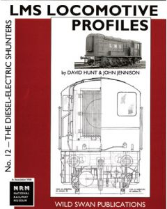 LMS Loco Profiles 12 Diesel Electric Shunters