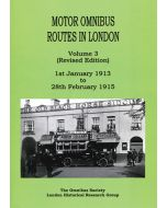Motor Omnibus Routes in London Vol 3 Revised Edition